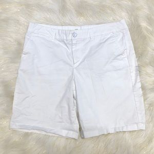 Gap White Khaki Shorts 8